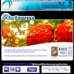 Lotería para empresas personalizada